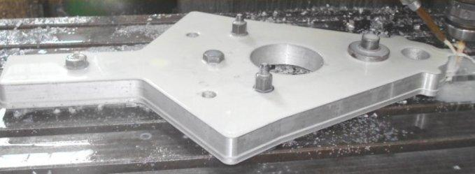 Model of aluminum alloy